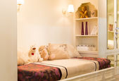 Cozy bedroom interior — Fotografia Stock
