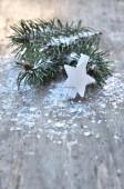 Winter and festive decoration — Zdjęcie stockowe