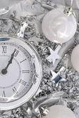 Clock striking midnight  — Stock fotografie