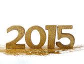 2015 figures - new year — Stock Photo