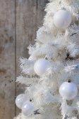 Decoración de la Navidad blanca — Foto de Stock