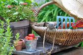 Garden accessories — Stock Photo