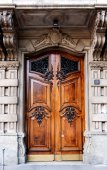 Door,Milan, Italy — Stock fotografie