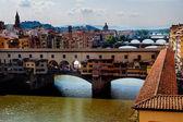 The Ponte Vecchio. Florence. Italy  — Stock Photo