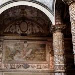 Rich Interior of Palazzo Vecchio (Old Palace) a Massive Romanesq — Stock Photo #55773713