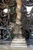 Column lion — Stock Photo