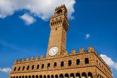 The Old Palace (Palazzo Vecchio or Palazzo della Signoria), Flor — Foto de Stock