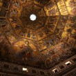 Golden mosaic in baptistery of Santa Maria dei Fiore in Florence — Stock Photo #56090703