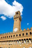 The Old Palace (Palazzo Vecchio or Palazzo della Signoria), Flor — Stok fotoğraf