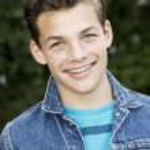 Smiling teenage boy — Stock Photo #67180101