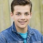 Smiling teenage boy — Stock Photo #67180501