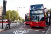 London buses — Stock Photo