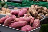 Sweet potatoes. — Stock Photo