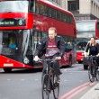 Постер, плакат: Cycling in London