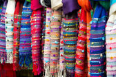 Colourful scarves. — Stock Photo