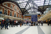Liverpool street station. — Stock Photo