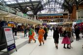 Liverpool street station. — Stock Photo