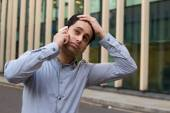 Fed up business man — Stock Photo