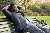 ビジネスの男性リラックス — ストック写真