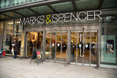 Marks and spencers — Stock Photo