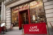Cafe rouge — Stock Photo