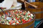 Salad selection — Foto de Stock