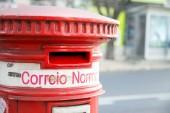Portuguese postbox — Stock Photo