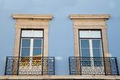 Portuguese window — Stock Photo