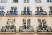 Portuguese town house — Stock Photo