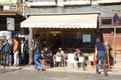 Portuguese bakery — Stock Photo