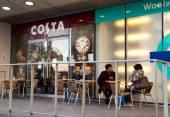 Costa coffee — Stock Photo