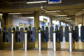 Oyster card gates — Stockfoto