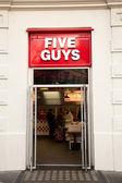 Five guys — Stock Photo