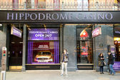 Hippodrome casino — Stock Photo