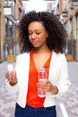 Pillen en water — Stockfoto
