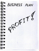 Plan d'affaires — Photo