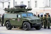 Giorno della vittoria 2014 a ekaterinburg, russia — Foto Stock