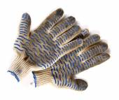 Dirty garden gloves — Стоковое фото