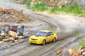 Rallye südliche ural 2012 — Stockfoto