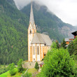 Church of Heiligenblut near the Grossglockner High Alpine Road — Stock Photo #55399679