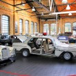 Workshop of the museum of vintage cars Classic Remise — Stock Photo #57844429