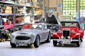 British classic cars — Stockfoto