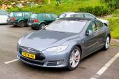 Tesla Model S — Stock Photo