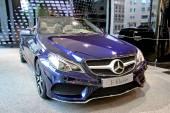 Mercedes-Benz C207 E-class — Stock Photo