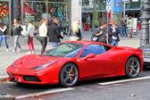 Ferrari 458 italia — Zdjęcie stockowe