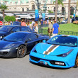 Постер, плакат: Ferrari 458 Speciale and McLaren MP4 12C