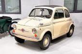 Fiat 500 — Foto de Stock