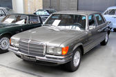 Mercedes-Benz W116 S-class — Stok fotoğraf