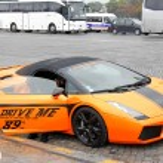 Lamborghini Gallardo Spyder — Stock Photo #70612211