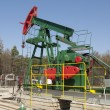 Oil pump jack — Stock Photo #60715459